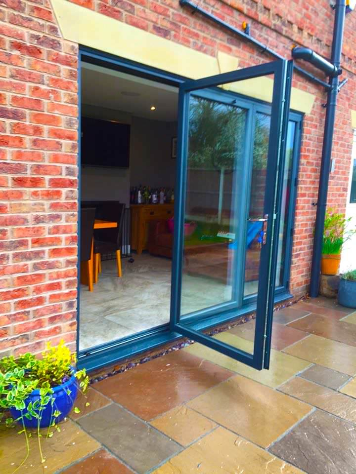 Bi Folding Doors in Preston (6) & Aluminium Bi-fold Doors Preston Chorley Leyland Blackpool Lytham.